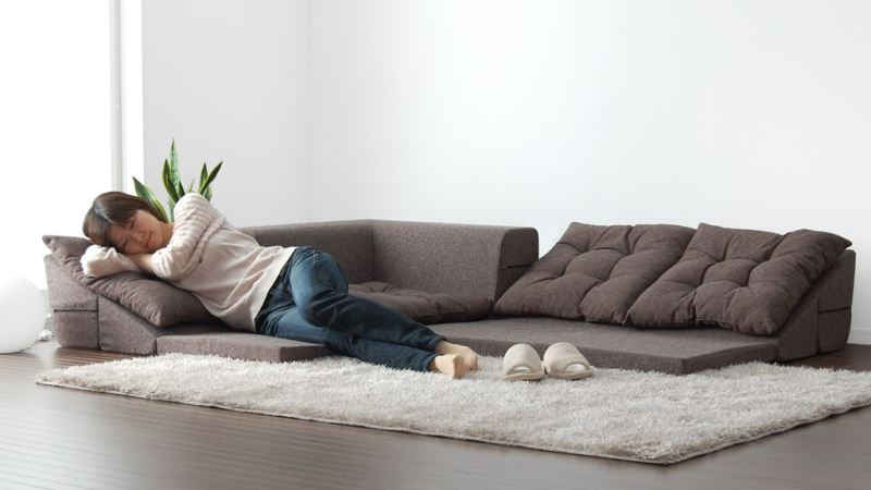 Creative Ideas of Floor Sitting with Floor Couches
