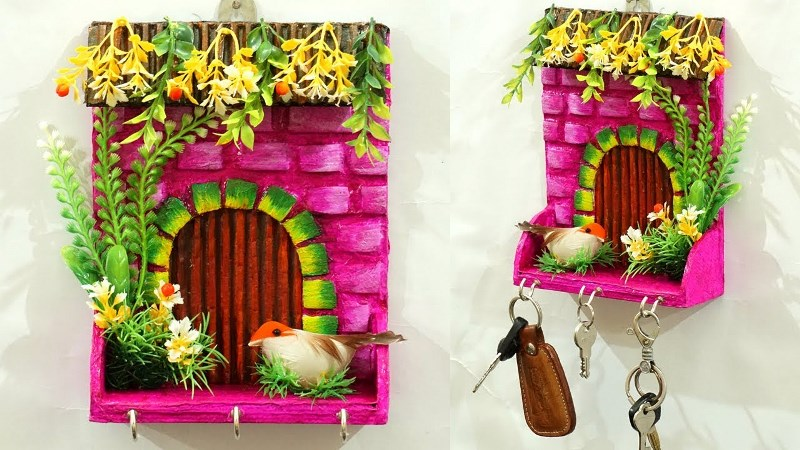 Turn Your Waste Material in to Home Decoration