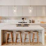 Modern Kitchen Countertop Dining Idea for Modern Interior